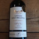 Chateau Haut-bellevue 2014 Cru Bourgeois